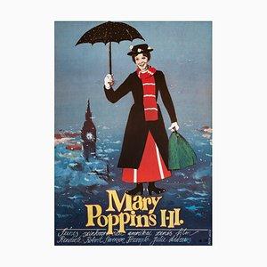 Mary Poppins Poster, Berta Gabor, 1986