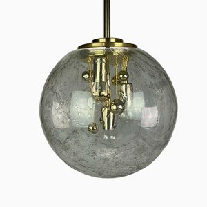 Space Age Ceiling Lamp from Doria, 1960s