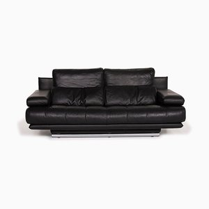 Black 6500 Sofa from Rolf Benz
