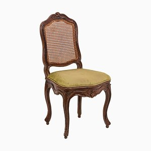 Louis XV Side Chair in Cane & Beech