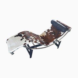 Chaise longue LC4 di Le Corbusier per Cassina, anni '70