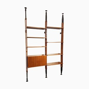 Albini LB7 835 Teak Bookcase by Franco Albini, 1970s