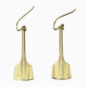 Silberne Ohrringe von Bjørn Sigurd Østern für David Andersen, 1960er, 2er Set