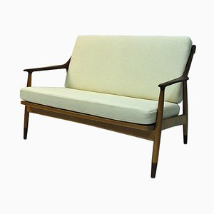 Danish 2-Seat Love-Seat Sofa by Kurt Østervig for Jason Møbler, 1950s
