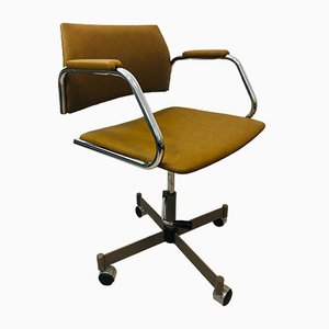 Brown Office Chair from Kovona, 1970s
