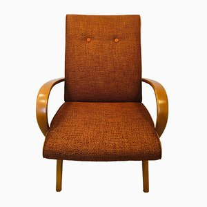 Orange Armchair by Jaroslav Smidek, 1960s