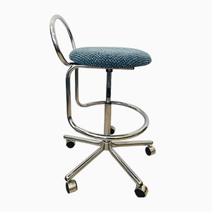 Blue Bar Chair by Kovona, 1970s