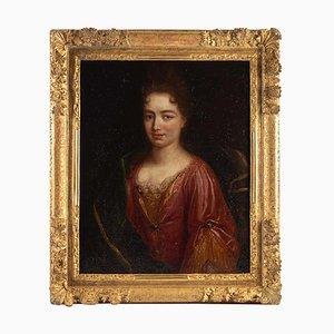 Portrait of an Elegant Woman, 17th Century, Oil on Canvas