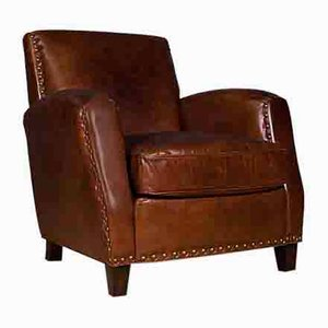 Brown Canonbury Leather Club Chair