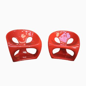 Armchairs by Giorgio Gurioli for Kundalini Hara, 2000s, Set of 2