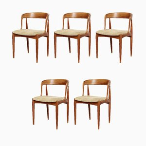 Dining Chairs by Johannes Andersen for Uldum, 1950s, Set of 5