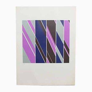 Kern Rueadi, Diagonals, Print, 1972