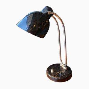 Vintage Italian Black Adjustable Table Lamp, 1960s