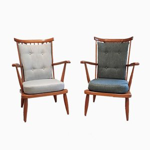 Armchairs by Lucian Ercolani for Ercol, 1950s, Set of 2