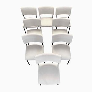 Side Chairs by Joseph André Motte for Steiner, 1960s, Set of 8