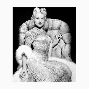 Beautiful Betty, Archival Pigment Print Framed in Black by Everett Collection