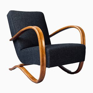 Vintage Stuhl von Jindřich Halabala für Thonet, 1930er