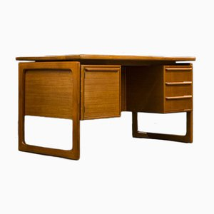 Danish Teak Desk from GV Møbler, 1960s
