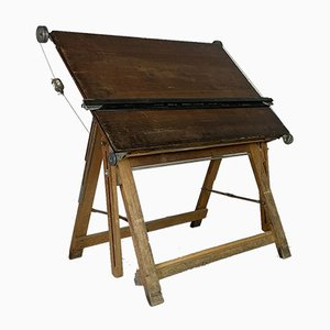 Vintage Admel Draughtsman's Table