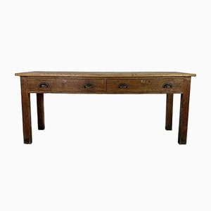 Oak Console Table, 1920s