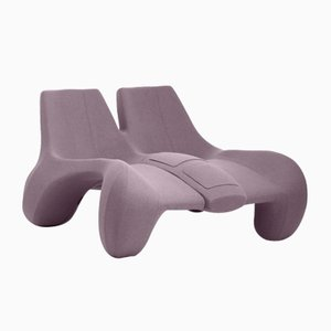 DC 112 Double Chaise Longue Color Kvadrat 647 by Atelier Jungblut