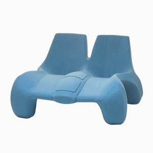 DC 112 Double Chaise Longue Color Kvadrat 731 by Atelier Jungblut
