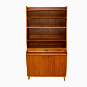 Swedish Teak and Oak Wall Unit, 1950s