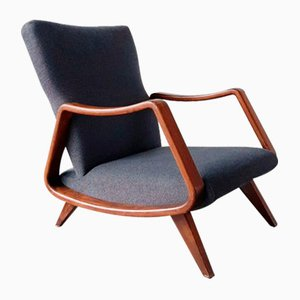 Mid-Century Lounge Chair by A. A. Patijn for for Poly-Z Joure, 1950s