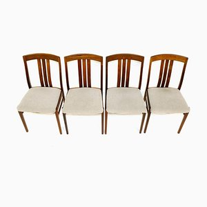 Swedish Rosewood Living Room Set, 1960s, Set of 4