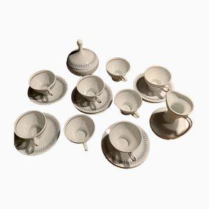 Porzellan Kaffee- oder Teeservice von Kapeans, 1960er, Set of 18
