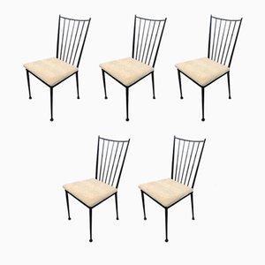 Beistellstühle von Colette Gueden, 1950er, 5er Set