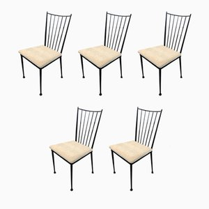 Side Chairs by Colette Gueden, 1950s, Set of 5