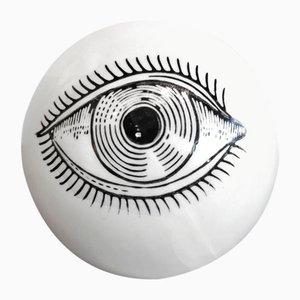 Pop Art Eyeball Paperweight by Piero Fornasetti