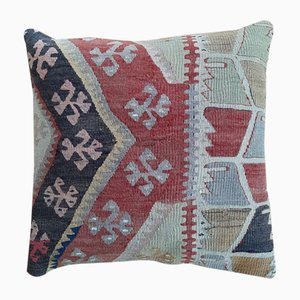 Vintage Turkish Anatolian Kilim Cushion