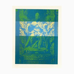Constantine Persians, Saint Peter, Screen Print, 1973