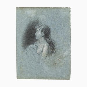 Portrait, Bleistift und Pastell, Frühes 20. Jahrhundert