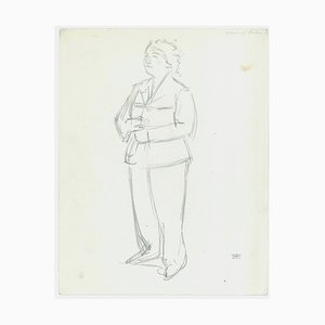 Jacques Hirtz, Studies of Figures, Bleistift, 20. Jahrhundert