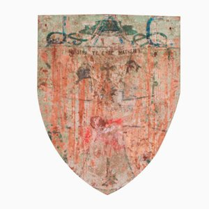 Painted Shield, 1890s