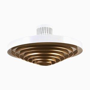 Große Messing Deckenlampe von Lisa Johansson-pape für Orno
