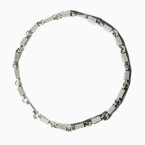 Silbernes Collier von Wiwen Nilsson
