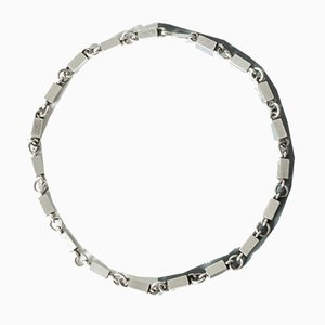 Silver Collier Necklace by Wiwen Nilsson
