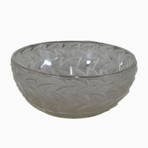 Crystal Bowl from Lalique, France, 1960s
