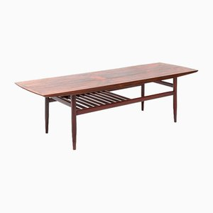 Danish Rosewood Coffee Table or Side Table, 1960s