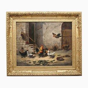 H. Dauphin, Pintura al óleo, 1877