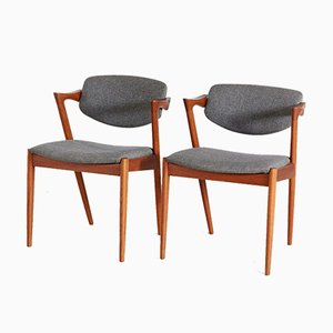 Mid-Century Danish Dining Chairs, 1960s, Set of 2