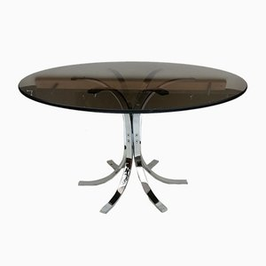Vintage Round Coffee Table, Germany, 1970s