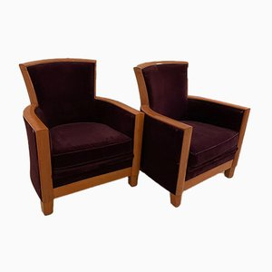 Armchairs from Rosello Paris, 1960s, Set of 2