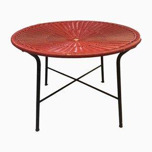 Rattan Coffee Table, 1950s