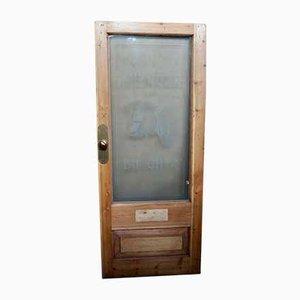 Victorian Butchers Shop Front Door