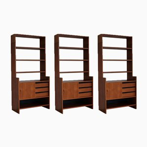 Cabinets by Poul Cadovius for Deco, 1960s, Set of 3